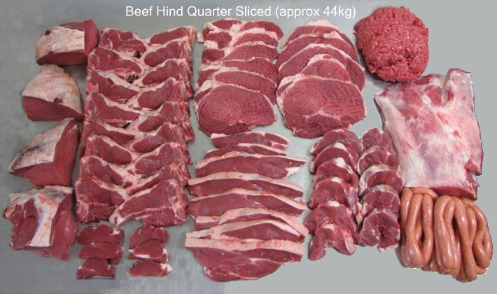 Hind Quarter Sliced