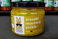 Wasabi Mustard Pickle